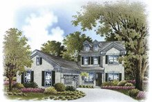 Architectural House Design - Country Exterior - Front Elevation Plan #999-171