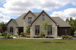Dream House Plan - European Exterior - Front Elevation Plan #1064-2