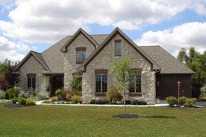 House Design - European Exterior - Front Elevation Plan #1064-2