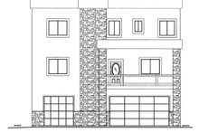 Contemporary Exterior - Front Elevation Plan #117-862
