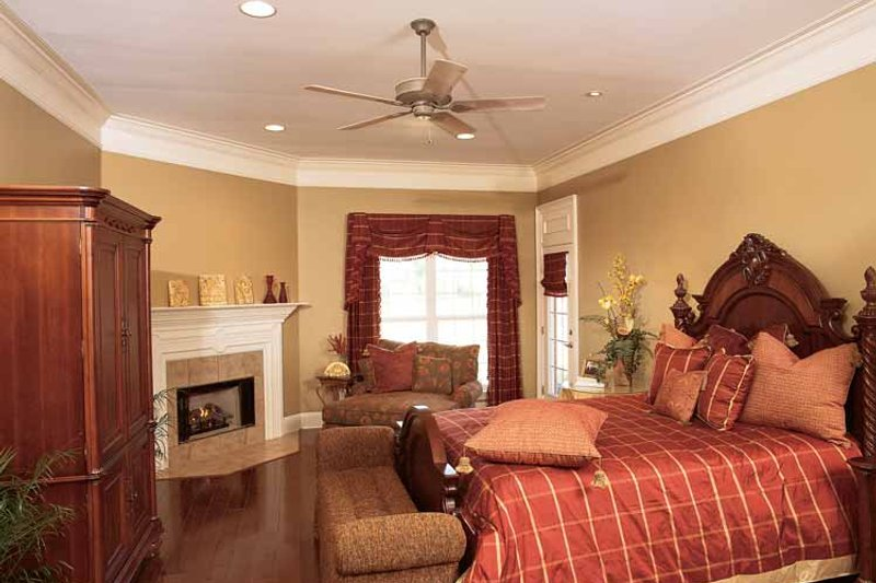 Classical Interior - Master Bedroom Plan #37-275 - Houseplans.com