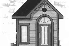 Dream House Plan - Cottage Exterior - Front Elevation Plan #23-470