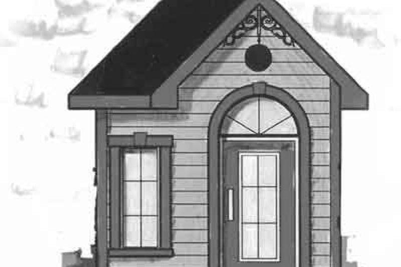 Dream House Plan - Cottage Exterior - Front Elevation Plan #23-470