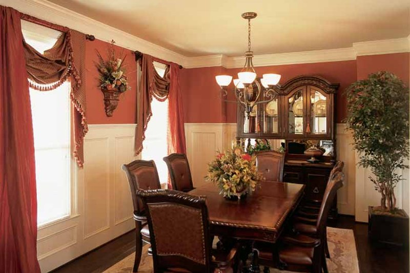 Country Interior - Dining Room Plan #927-287 - Houseplans.com