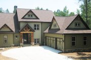 Craftsman Style House Plan - 4 Beds 3.5 Baths 2961 Sq/Ft Plan #437-5 Exterior - Front Elevation