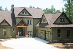 House Plan Design - Craftsman Exterior - Front Elevation Plan #437-5