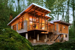 Modern House Plan by Architect, Nir Paerlson