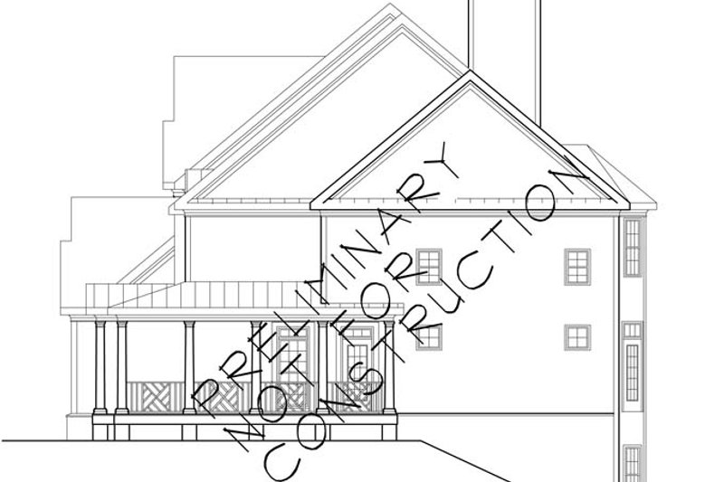 Colonial Exterior - Other Elevation Plan #927-174 - Houseplans.com