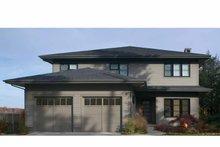 Architectural House Design - Prairie Exterior - Front Elevation Plan #928-226