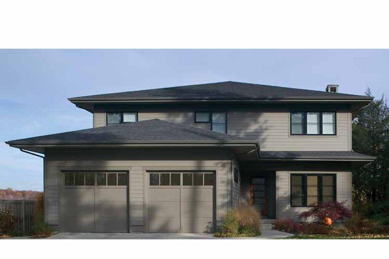 Prairie Exterior - Front Elevation Plan #928-226 - Houseplans.com