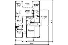 Ranch Floor Plan - Main Floor Plan Plan #20-2302
