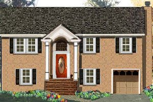 House Design - Traditional Exterior - Front Elevation Plan #3-147