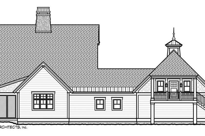 Craftsman Exterior - Rear Elevation Plan #928-280 - Houseplans.com