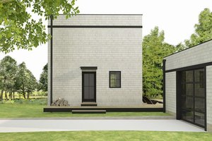 Modern Exterior - Front Elevation Plan #914-3