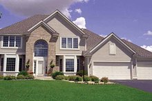 House Plan Design - Traditional Exterior - Front Elevation Plan #51-921
