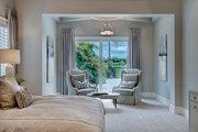 Mediterranean Style House Plan - 3 Beds 3 Baths 3648 Sq/Ft Plan #930-449 Interior - Master Bedroom