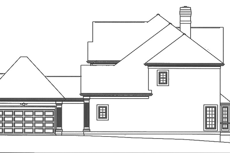 Mediterranean Exterior - Other Elevation Plan #453-113 - Houseplans.com