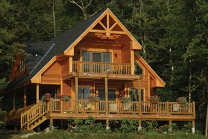 Narrow lot house plans for Small vacation home kits