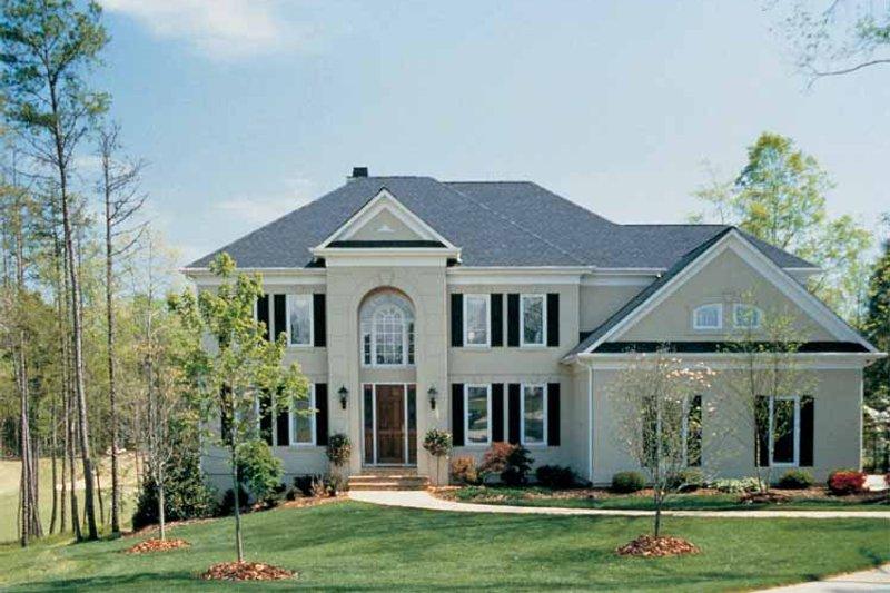 Colonial Exterior - Front Elevation Plan #453-173 - Houseplans.com