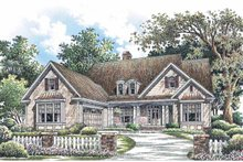 Traditional Exterior - Front Elevation Plan #929-724