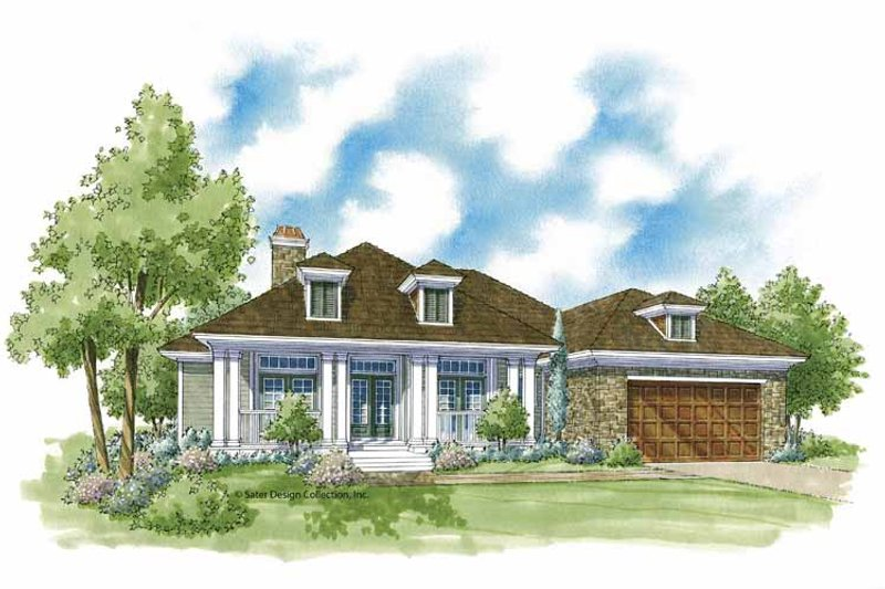 Country Exterior - Front Elevation Plan #930-376 - Houseplans.com
