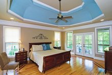 Dream House Plan - European Interior - Master Bedroom Plan #929-914