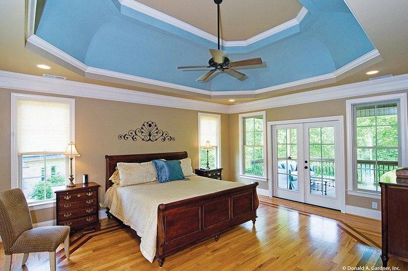 European Interior - Master Bedroom Plan #929-914 - Houseplans.com