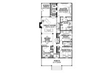 Country Floor Plan - Main Floor Plan Plan #137-365