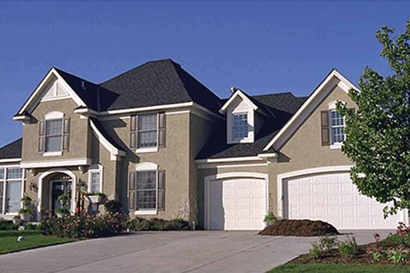 Dream House Plan - Country Exterior - Front Elevation Plan #51-893