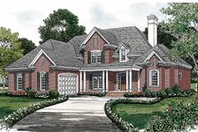 Traditional Exterior - Front Elevation Plan #453-349
