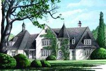 House Plan Design - European Exterior - Front Elevation Plan #137-226