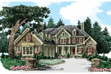 Home Plan - Traditional Exterior - Front Elevation Plan #927-347