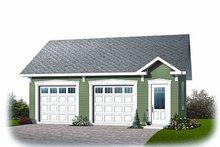 Craftsman Exterior - Front Elevation Plan #23-771