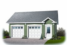 Dream House Plan - Craftsman Exterior - Front Elevation Plan #23-771