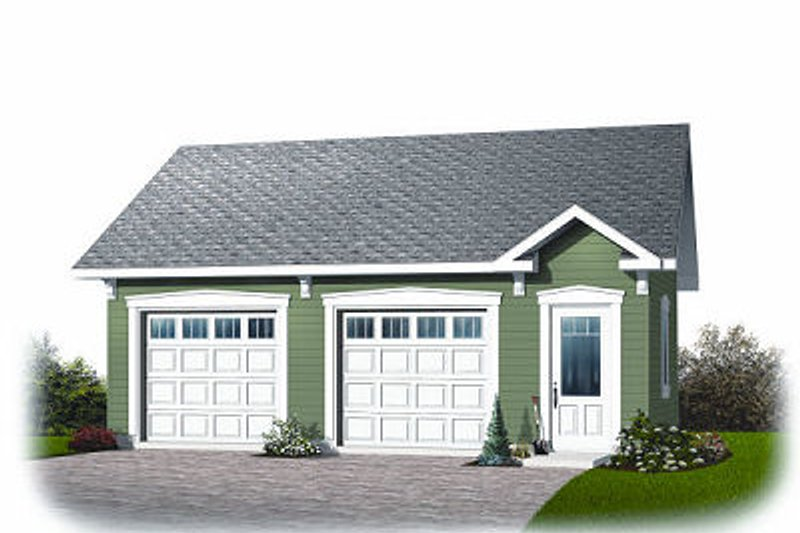 Craftsman Exterior - Front Elevation Plan #23-771