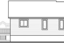 House Design - Mediterranean Exterior - Rear Elevation Plan #23-701