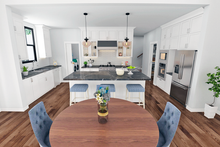 Farmhouse Interior - Kitchen Plan #48-968