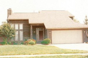 Modern Exterior - Front Elevation Plan #421-146