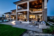 Contemporary Style House Plan - 5 Beds 5.5 Baths 7466 Sq/Ft Plan #930-513 Exterior - Outdoor Living