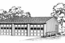 Home Plan - Traditional Exterior - Front Elevation Plan #72-248