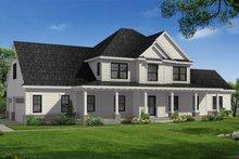 House Plan Design - Farmhouse Exterior - Front Elevation Plan #1057-22