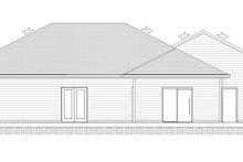 House Plan Design - Ranch Exterior - Rear Elevation Plan #1077-9