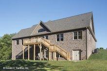 Craftsman Exterior - Rear Elevation Plan #929-953