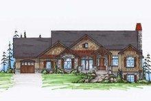 Home Plan - Craftsman Exterior - Front Elevation Plan #5-259