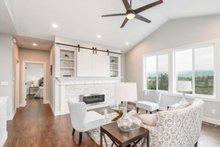 Craftsman Interior - Family Room Plan #1070-17