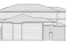 Architectural House Design - Left Side