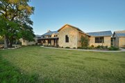 Ranch Style House Plan - 3 Beds 2.5 Baths 2693 Sq/Ft Plan #140-149 Exterior - Front Elevation