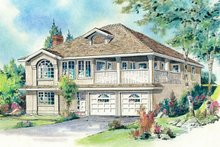 Home Plan - Traditional Exterior - Front Elevation Plan #18-114