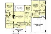 Craftsman Style House Plan - 3 Beds 2 Baths 2086 Sq/Ft Plan #430-172 Floor Plan - Main Floor Plan