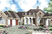Home Plan - Traditional Exterior - Front Elevation Plan #930-295
